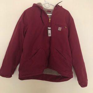 NWT Carhartt Sherpa Lined Jacket